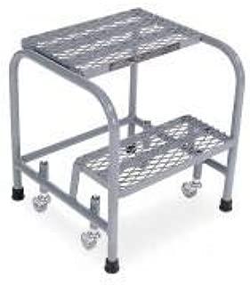 product image for Cotterman 1002N1818A1E10B3SSP1 - Rolling Ladder Welded Platform 20In H