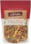 Back To Nature Pistachio, Cashew & Almond Mixed Nuts 10.5 oz. (Case of 9) by Back to Nature