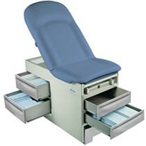 - Basic Exam Table Style: Right, Model: 4000, Color: Petal