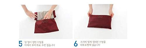 Lightweight Foldable Beach Tote Bag Travel Toy Bag Large Grocery & Picnic Reusable Shopping Shoulder Handbag by Chihom (Image #6)