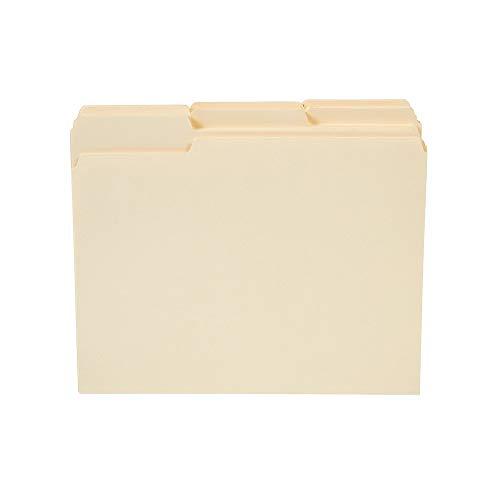 - Staples 3 Tab Heavyweight Manila File Folders, Letter, 50/Box Manila