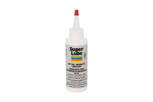 - Super Lube 12004 Air Tool Lubricant, 4 oz Bottle, Translucent Clear