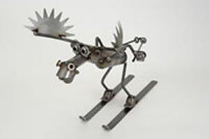 Skiing Aggressive Moose by (Yardbirds Moose)