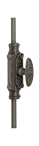 A29 Hardware 6 Feet Iron Cremone Bolt for Windows, Antique Iron Finish Finish