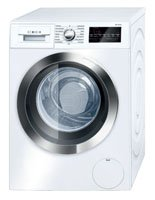 Bosch 2.2 Cu. Ft. 15-Cycle High-Efficiency Compact Front-Loading Washer White/Chrome WAT28402UC