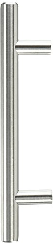 Pandora SOLID Stainless Steel Bar Pull Handle For Drawer Kitchen Cabinet Hardware 6-inch T Pull - 25 PACK