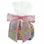 C1 Cellophane Bags - 3-1/2 Inch X 2 Inch X 7-1/2 Inch Clear Bulk Gusset Style Cello Bags by Creative Gift Packaging