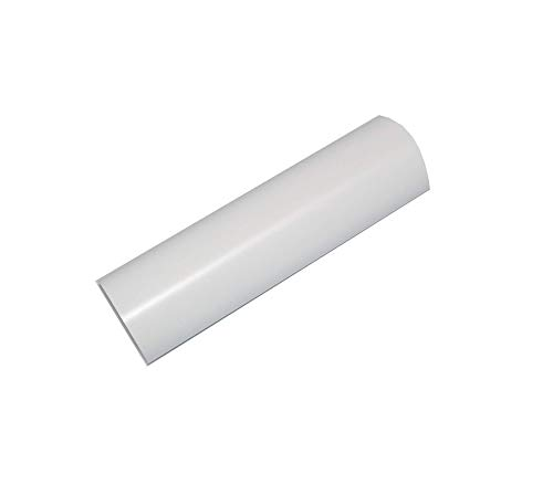 "Vinyl Ease 24"" x 30 ft Roll Glossy White Permanent Adhesive Vinyl for Cricut, Silhouette, Pazzles, Craft ROBO, QuicKutz, Craft Cutters, Die Cutters, Sign Plotters - V0700"