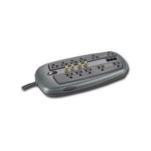 - Dynex DX-S114241 11-Outlet PC Home/Office Surge Protector, 8-Foot