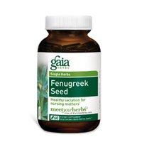 Gaia Травы семян пажитника, 60-капсула бутылки (Multi-Pack)