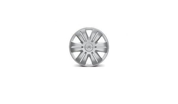 Citroen-Juego De 4 Tapacubos para ruedas Securises Etincelle Citroen 15, color Gris: Amazon.es: Coche y moto