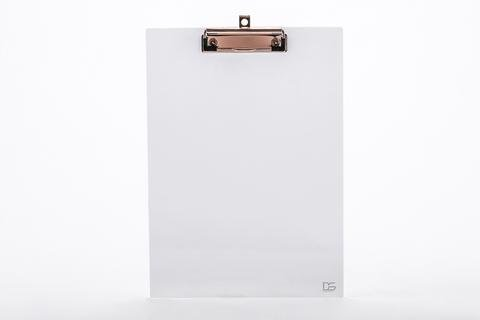 Draymond Story Clear Acrylic Clipboard - Fits 9x12 inch A4 Paper (Office Desk Stationery Series)