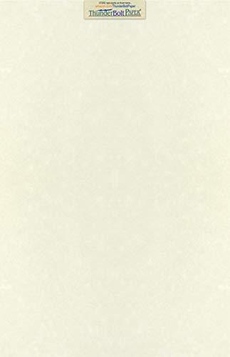 50 Soft White Parchment 60lb Text Weight Paper - 11