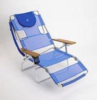Deluxe Ostrich (Ostrich 3 N 1 Beach Chair / Lounger Color: Blue [3N1-1001B])
