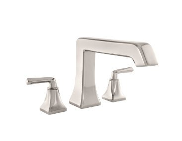 Pfister RT6-5FE Park Avenue Roman Tub Filler Faucet Double Handle, Polished Nickel