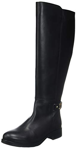 990 Noir Tommy Femme black Hilfiger High Bottes Boot Hautes Th Buckle pwxFqwO8vZ