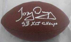(Tony Dungy Sb Xli Champ Autographed Signed Wilson NFL Football JSA - Certified Authentic)