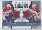 P.K. Subban; Tomas Plekanec (Hockey Card) 2013-14 Upper Deck Artifacts - Tundra Tandems - Ttp Shops