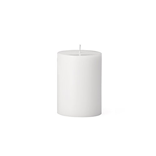 (Torre & Tagus 901758A Prime Palm Wax Pillar Candle 3 by 4-Inch, White)