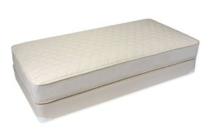 Naturepedic MF45 Full 2 in 1 Ultra Quilted Mattress WITH MF40B Foundation