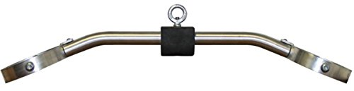 American Barbell USA-Made High Strength Aluminum 34'' Solid Bent Parallel Grip Lat Pulldown Cable Attachment with Urethane Handles by Ironcompany.com (Image #1)'