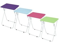 Multipurpose Folding Table Pink Only
