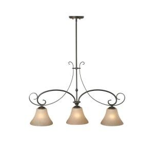 "Essex 3 Light 56 In. Aged Blac 31.5""x39.25""x9. Aged Black"