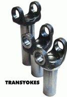 DriveShaft TR7260-727 Steel Transmission Yoke - 7260 yoke 30 spline Chrysler All Models