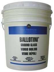 Blast Media, Ground Glass by BALLOTINI