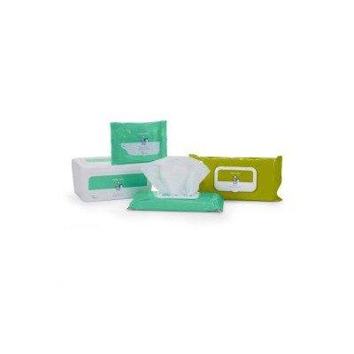 552BWSU80 - Cardinal Health - Med Baby Wipes, Fragrance Free (80 per tub)