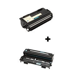 (2 Pack) Compatible with Brother, Set of TN-430 Toner Cartridge, DR-400 Drum Unit – 1 of each