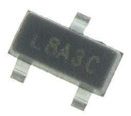 MOSFET 60V 2.3A 1.66W 156mohm @ 10V (100 pieces)