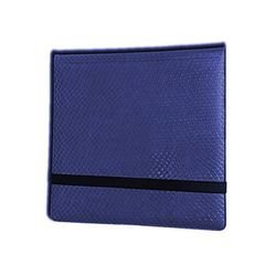 Legion 12 Pocket Binder 3x4 Dragonhide Blue ()
