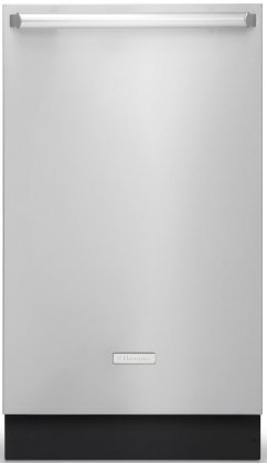 """Electrolux IQ-Stimulate Series EIDW1805KS 18"""" Fully Integrated Built In Dishwasher With 5 Cycles Luxury-Hold Door Quiet 52 dBA Luxury-Float Racks Energy Star Rated in Stainless"""