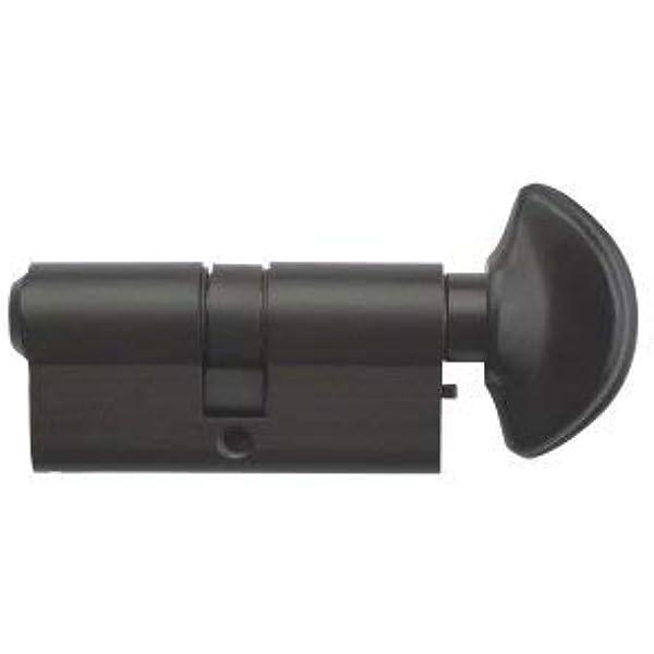 CYLINDER EURO SHAPE LOCK   BARREL  DOOR  31mm 31mm = 62mm   PATINA OLD BRASS