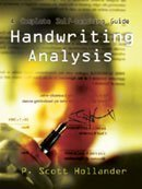 Handwriting Analysis: A Complete Self-teaching Guide by Scott P. Hollander (2005) Paperback