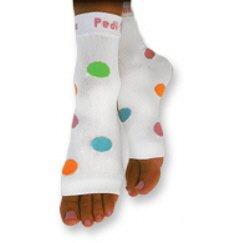 Pedi Sox Multi Color Polka Dot 1 pair