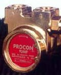 112E125F11XX - Procon brass, 125 GPH bolt-on, for 1/3 HP by Procon