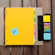 Stay organized on the go with Post-it Pockets & Notebook Kits.