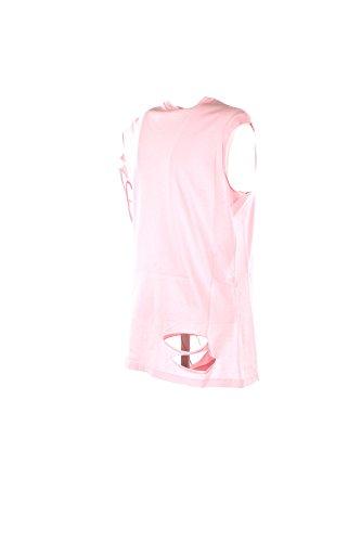 Rosa Y4dk Maglia Art 1b138x Clare Cotone Top rosso Girocollo Pinko Canotta Donna CwFn8qv