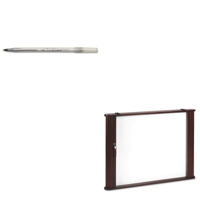 KITBICGSM11BKBLT28060 - Value Kit - Best-rite Conference Room Cabinet (BLT28060) and BIC Round Stic Ballpoint Stick Pen (BICGSM11BK)