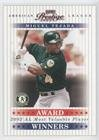 Miguel Tejada #1860/2,002 (Baseball Card) 2003 Playoff Prestige - Award Winners #AW-8