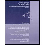 Excel Guide For Finite Mathematics And Applied Calculus: Used with ...Harshbarger-Mathematical Applications: For the Man