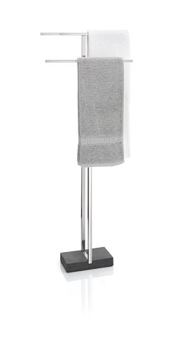 Towel Stand, Polished (Blomus Towel Rack)