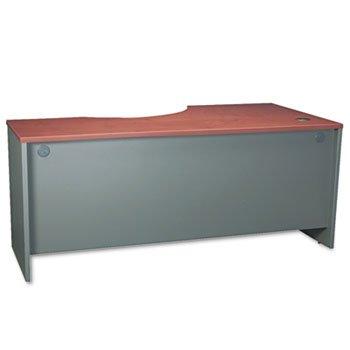 (Bush Business Furniture Series C 72W Left Handed Corner Desk in Hansen Cherry)