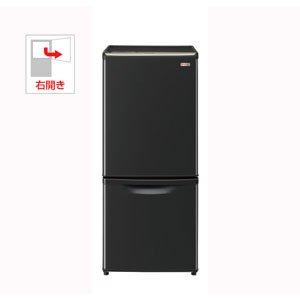 パナソニック 138L 2ドア冷蔵庫 ブラックPanasonic NR-B144W のJoshinオリジナルモデル NR-BW144C-K   B006JKWSNW