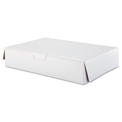 Southern Champion 1029 White Half Sheet Tuck-Top Bakery / Cake Box, 19
