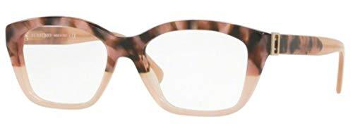 - Burberry Women's BE2265 Eyeglasses Brown Havana/Pink 51mm