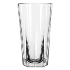 Inverness Glass Tumblers, Cooler, 15.25oz, 6 1/8'' Tall, Carton