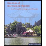 Essentials of International Business : Core Principles, Concepts, and Strategies, Satterlee, Brian, 0978874803